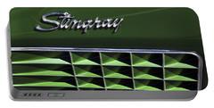 1972 Chevrolet Corvette Stingray Emblem Portable Battery Charger