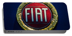 1972 Fiat Dino Spider Emblem Portable Battery Charger