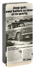 1972 Jeep Commando Portable Battery Charger
