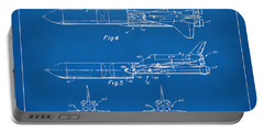 1975 Space Vehicle Patent - Blueprint Portable Battery Charger