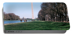 1980s Washington Monument Dc Usa Portable Battery Charger