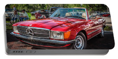 1984 Mercedes 500 Sl Painted  Portable Battery Charger