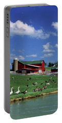 1990s Amish Family Farm Bunker Hill Portable Battery Charger