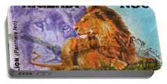 1993 Nigerian Lion Stamp Portable Battery Charger
