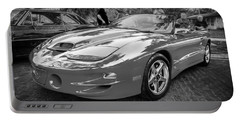1999 Pontiac Trans Am Anniversary Edition Painted Bw    Portable Battery Charger