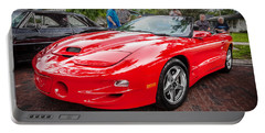 1999 Pontiac Trans Am Anniversary Edition Painted Portable Battery Charger
