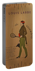 19th Century Tennis Player 2 Portable Battery Charger