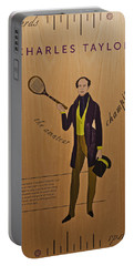 19th Century Tennis Player 3 Portable Battery Charger