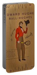 19th Century Tennis Player Portable Battery Charger