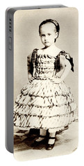 1865 Defiant American Girl Portable Battery Charger by Historic Image