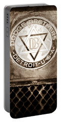 1923 Dodge Brothers Depot Hack Emblem Portable Battery Charger