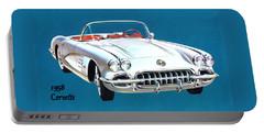1958 Corvette Portable Battery Charger