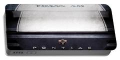 1969 Pontiac Trans Am Tail Fin Emblem Portable Battery Charger