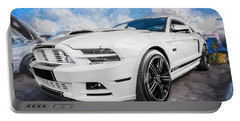 2014 Ford Mustang Gt Cs Painted  Portable Battery Charger