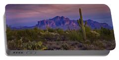 A Beautiful Desert Evening  Portable Battery Charger