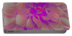 Portable Battery Charger featuring the photograph A Touch Of Purple - Pop Art by Dora Sofia Caputo Photographic Art and Design