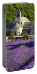 Abbaye De Senanque Portable Battery Charger by Brian Jannsen