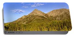 Alaska Mountains Portable Battery Charger
