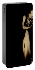Portable Battery Charger featuring the photograph Alone  by Jessica Shelton