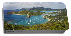 Antigua Portable Battery Charger by Brian Jannsen