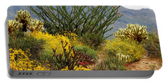 Arizona Springtime Portable Battery Charger by Marilyn Smith