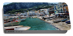 Arrival To Capri  Portable Battery Charger