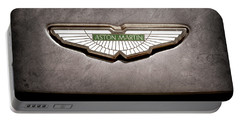 Aston Martin Emblem Portable Battery Charger
