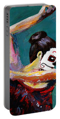 Bailan De Los Muertos Portable Battery Charger