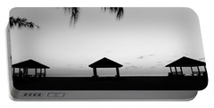 Portable Battery Charger featuring the photograph Beach Huts by Amar Sheow