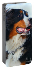 Beautiful Dog Portrait Portable Battery Charger