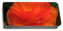 Portable Battery Charger featuring the photograph Begonia Named Nonstop Apricot by J McCombie