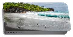 Black Sand Paradise Portable Battery Charger