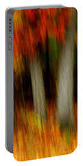 Blazing In The Woods Portable Battery Charger