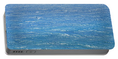 Portable Battery Charger featuring the photograph Blue Waters by George Katechis