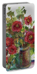 Bouquet Of Poppies Portable Battery Charger