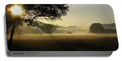 Cades Cove Sunrise II Portable Battery Charger by Douglas Stucky