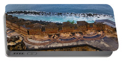 Portable Battery Charger featuring the photograph Castillo San Felipe Del Morro by Olga Hamilton