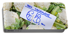 Cauliflower Portable Battery Charger by Tom Gowanlock