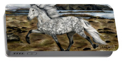 Charismatic Icelandic Horse Portable Battery Charger