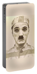 Vintage Charlie Chaplin Portable Battery Charger