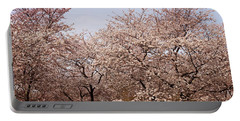 Cherry Blossom Trees In Potomac Park Portable Battery Charger