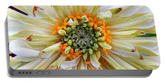 Chrysanthemum Fall In New Orleans Louisiana Portable Battery Charger by Michael Hoard