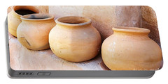 Clay Pots Portable Battery Charger by Kerri Mortenson