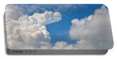 Clouds In The Sky Portable Battery Charger
