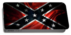 Confederate Flag 1 Portable Battery Charger