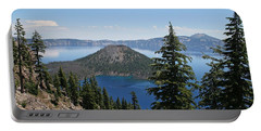 Crater Lake Oregon Portable Battery Charger
