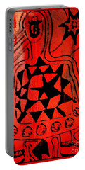 Portable Battery Charger featuring the drawing Cute Gismo by Leanne Seymour