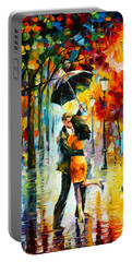 Dance Under The Rain Portable Battery Charger