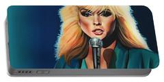 Deborah Harry Or Blondie Painting Portable Battery Charger