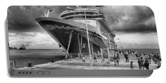Portable Battery Charger featuring the photograph Disney Fantasy by Howard Salmon